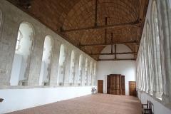 Abbaye de la Lucerne - Français:   Abbaye de la Lucerne. Réfectoire.