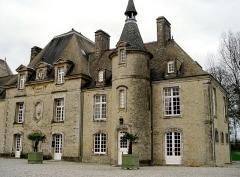 Château de Servigny -  The front of the château.