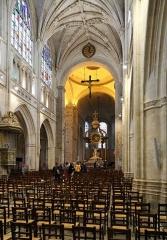 Eglise Notre-Dame - Nederlands: Alençon (Frankrijk): interieur van de Notre-Damekerk