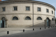 Halle au blé - Deutsch: Kornhalle (lHalle au blé) in Alençon im Département Orne (Region Normandie/Frankreich)