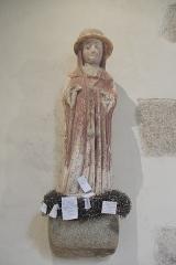 Chapelle de Saint-Céneri - Deutsch: Kapelle Saint-Céneri in Saint-Céneri-le-Gérei im Département Orne (Region Normandie/Frankreich), heiliger Cenericus (Céneri) aus dem 16. Jahrhundert