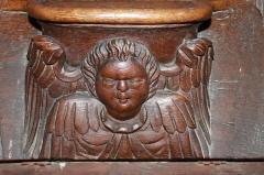 Cathédrale Notre-Dame - Français:   Miséricorde de stalles du chœur de la Cathédrale Notre-Dame de Bayeux (Calvados)