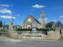 Eglise - Français:   Crouay (14)