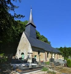 Eglise Saint-Martin - Français:   La Croupte (Calvados)