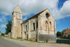 Eglise Notre-Dame du Quesnay - Français:   Estrées-la-Campagne (14)