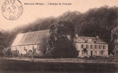Ancien prieuré de Saint-Cyr - Français:   abbaye de Friardel