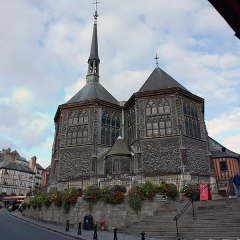 Eglise Sainte-Catherine -   Chevet the Church of St. Catherine.