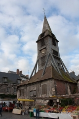 Eglise Sainte-Catherine -   Bell tower of the Church of St. Catherine.