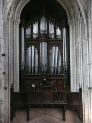 Eglise Saint-Pierre, ancienne cathédrale - English: Saint-Peter's cathedral of Lisieux (Calvados, Normandie, France).