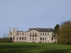 Château et son parc - Le château en 2017.