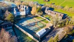 Château, actuellement annexe du musée intercommunal de Lisieux - Deutsch: Château de Saint-Germain-de-Livet