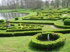 Château de Vendeuvre - Français:   Labyrinthe de verdure, château de Vendeuvre, Calvados (14)