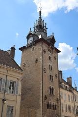 Beffroi - Français:   Tour de l\'Horloge à Beaune (21).