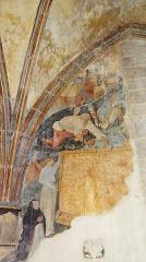 Eglise Notre-Dame et son presbytère - Basilique Notre-Dame de Beaune, Côte d'Or Peinture murale