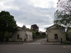 Fortifications - Français:   Château de Beaune  ( porte de la rue du Château )