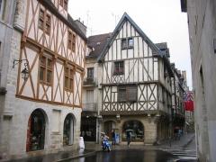 Hôtel de la Croix-de-Fer - Français:   Rue Verrerie de Dijon