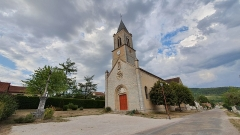 Croix - Français:   église