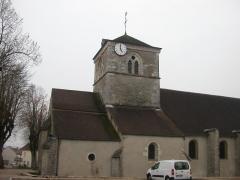 Eglise Saint-Vallier de Messigny - Français:   église de MESSIGNY ET VANTOUX  (21)
