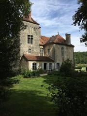 Château - English: Quemigny face Sud