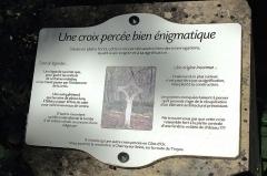 Croix - Français:   Information sur la croix percée de Semond