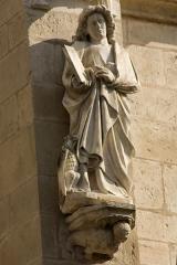 Eglise (collégiale) Notre-Dame -  Saint John, facade of the Collegiate Our Lady Church