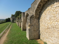 Remparts (restes) -  The Wall of the City