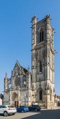 Eglise Saint-Martin (ancienne collégiale) - English: Saint Martin church in Clamecy, Nièvre, France