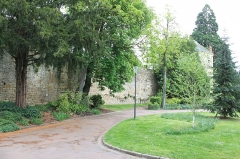 Remparts - Français:   Nevers, Nièvre, Bourgogne, France