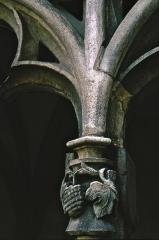 Cathédrale Saint-Vincent - Deutsch: Kreuzgang der Kathedrale Saint-Vincent in Chalon-sur-Saone