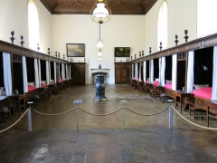 Hôtel Dieu - English: Men hall of the Hôtel-Dieu in Tournus (Saône-et-Loire, France).