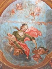 Hôtel Dieu - English: Ceiling of a room of the Hôtel-Dieu in Tournus (Saône-et-Loire, France).