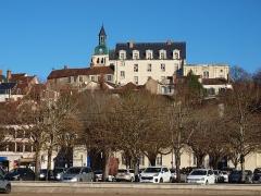 Ancien château des Comtes de Gondi - Français:   Château des Gondy à Joigny (Yonne, France)