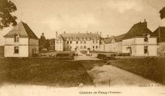 Château de Passy-Véron - Français:   Château de Passy dans l\'Yonne. Carte postale des années 1926.