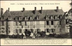 Château de Passy-Véron - Français:   Château de Passy dans l\'Yonne. Façade Ouest sur le parc.
