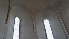 Prieuré de Saint-Jean-des-Bonshommes - Prieuré Saint-Jean-des-Bonshommes , intérieur de la chapelle