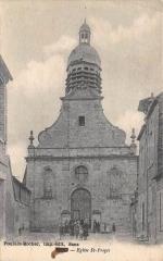 Eglise Saint-Preigts - Français:   Église Saint-Pregts de Sens vers 1900.