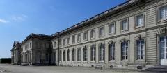 Palais et ses abords - Façade sur jardin du château de Compiègne (60).
