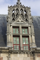 Ancien évêché - English:  Renaissance Window of the Bishop's Palace