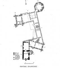 Château d'Alincourt - English: Castle of Alincourt