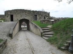 Porte Saint-Jean - English: The Saint-Jean gate of the castle of Château-Thierry (Aisne, France).