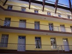 Familistère Godin - Familistère de Guise (Aisne, France): pavillon central du palais social