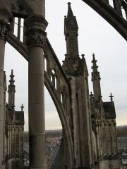 Cathédrale Notre-Dame - Amiens Cathédrale Notre-dame arc-boutant sud-est 2