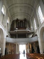 Eglise Saint-Acheul - Français:   Eglise Saint-Acheul, Amiens orgue