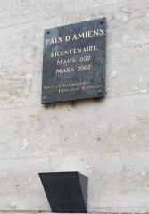 Ancien évéché - Français:   Palais de l\'évêché d\'Amiens 14