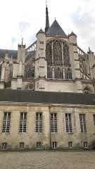 Ancien évéché - Français:   Palais de l\'évêché d\'Amiens 15