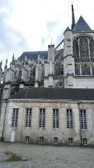 Ancien évéché - Français:   Palais de l\'évêché d\'Amiens 16