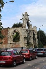 Hôtel Dieu - English: Amiens, the ruins of Hôtel-Dieu