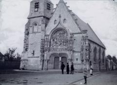 Eglise Notre-Dame de l'Assomption - Église Notre-Dame de La Neuville de Corbie au XIXe siècle 1
