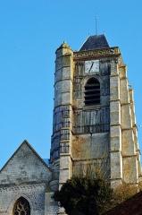 Eglise Saint-Médard -  Domart-en-Ponthieu (Somme, France).   L'église.