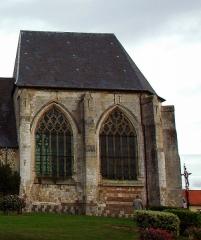 Eglise -  Feuquières-en-Vimeu (Somme, France).   L'église.